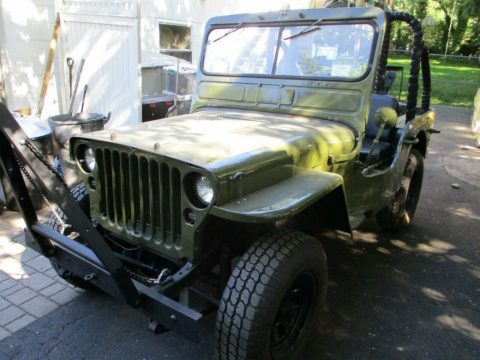 1943 Ford GPW Jeep for sale