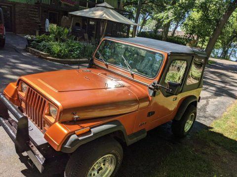 1988 Jeep Wrangler YJ for sale