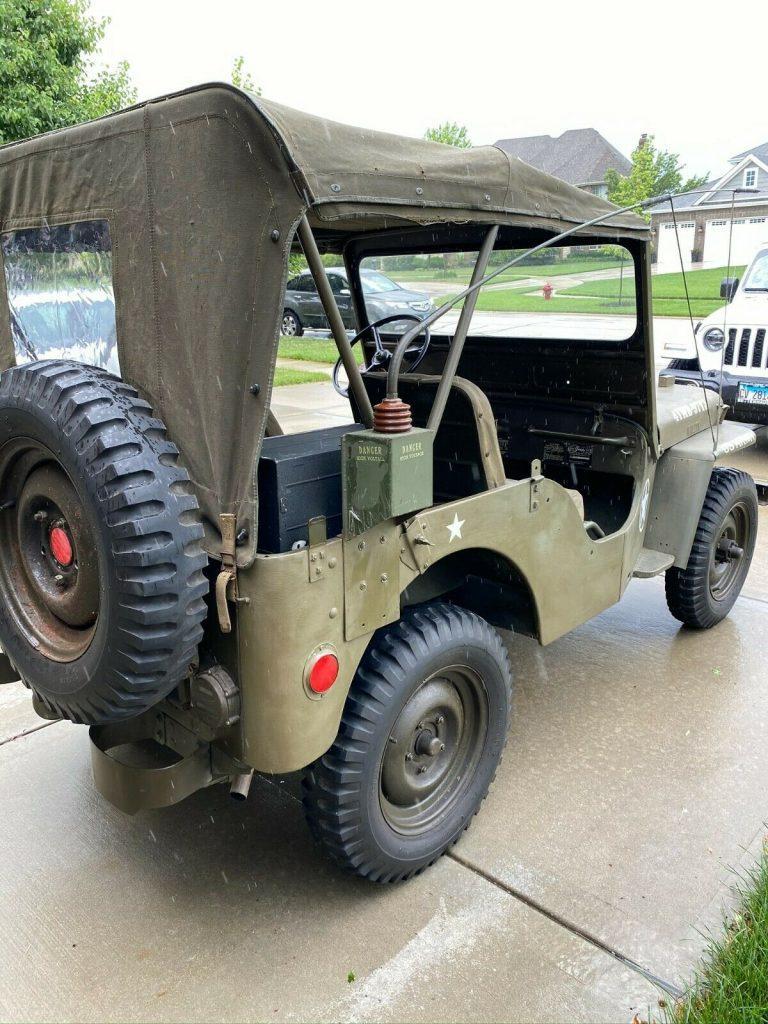 1953 Jeep Willys CJ3A
