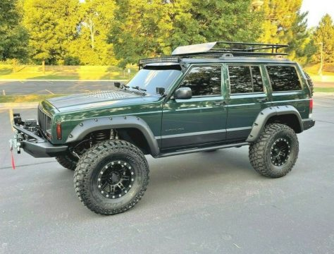 1999 Jeep Cherokee XJ   Super Clean   Built   LOADED!! for sale