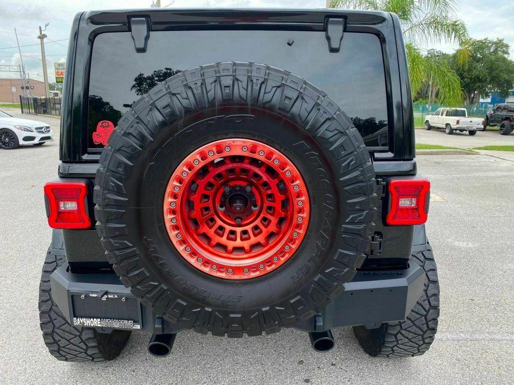 2018 Jeep Wrangler Rubicon Black Widow 6 Speed Leather NAV