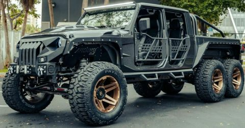 2021 Jeep Gladiator 6 Wheels for sale