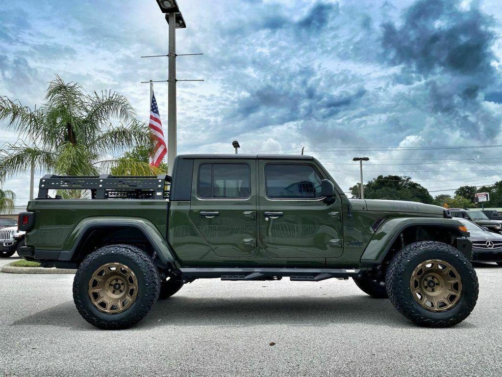 2021 Jeep Gladiator Sarge Diesel Willys Gladiator Fishbone FUEL