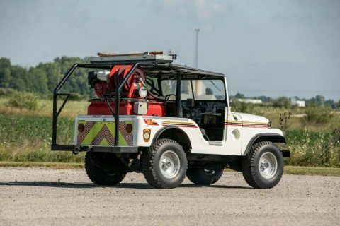 1953 Jeep Willys Brush Fire Truck for sale
