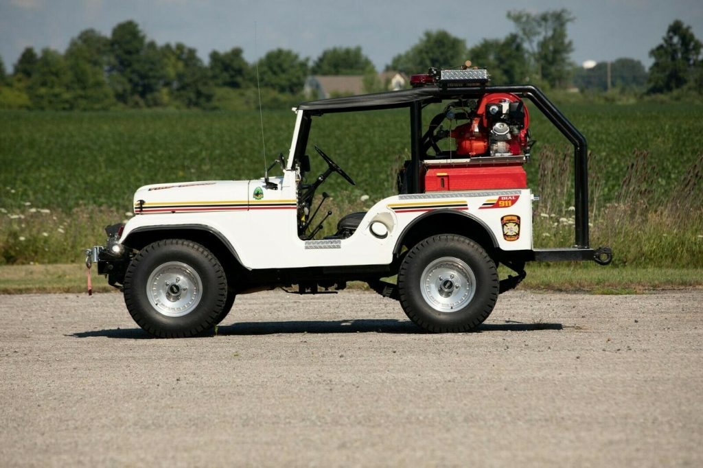 1953 Jeep Willys Brush Fire Truck