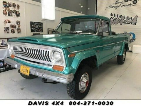 1974 Jeep J10 Four Wheel Drive Classic Pickup Truck for sale