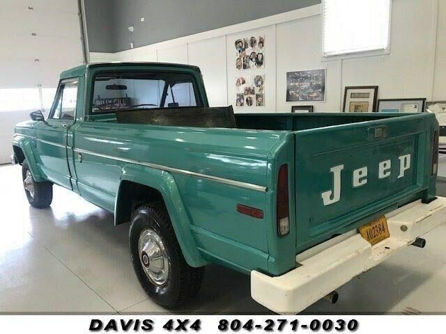 1974 Jeep J10 Four Wheel Drive Classic Pickup Truck