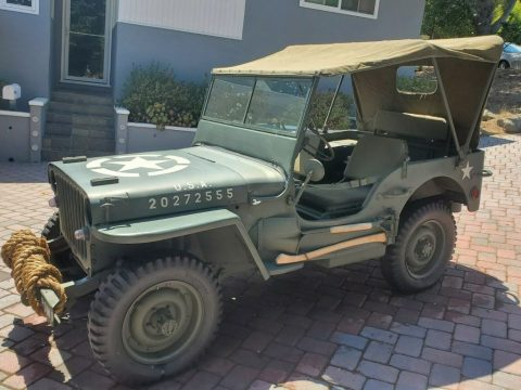 1943 Ford GPW, Not Willys MB for sale