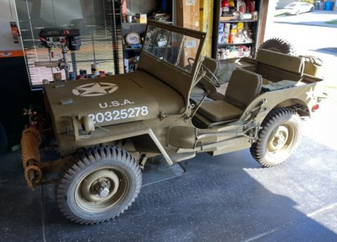1943 Jeep Willys MB for sale