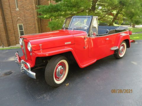 1948 Willys Jeepster Chrome for sale