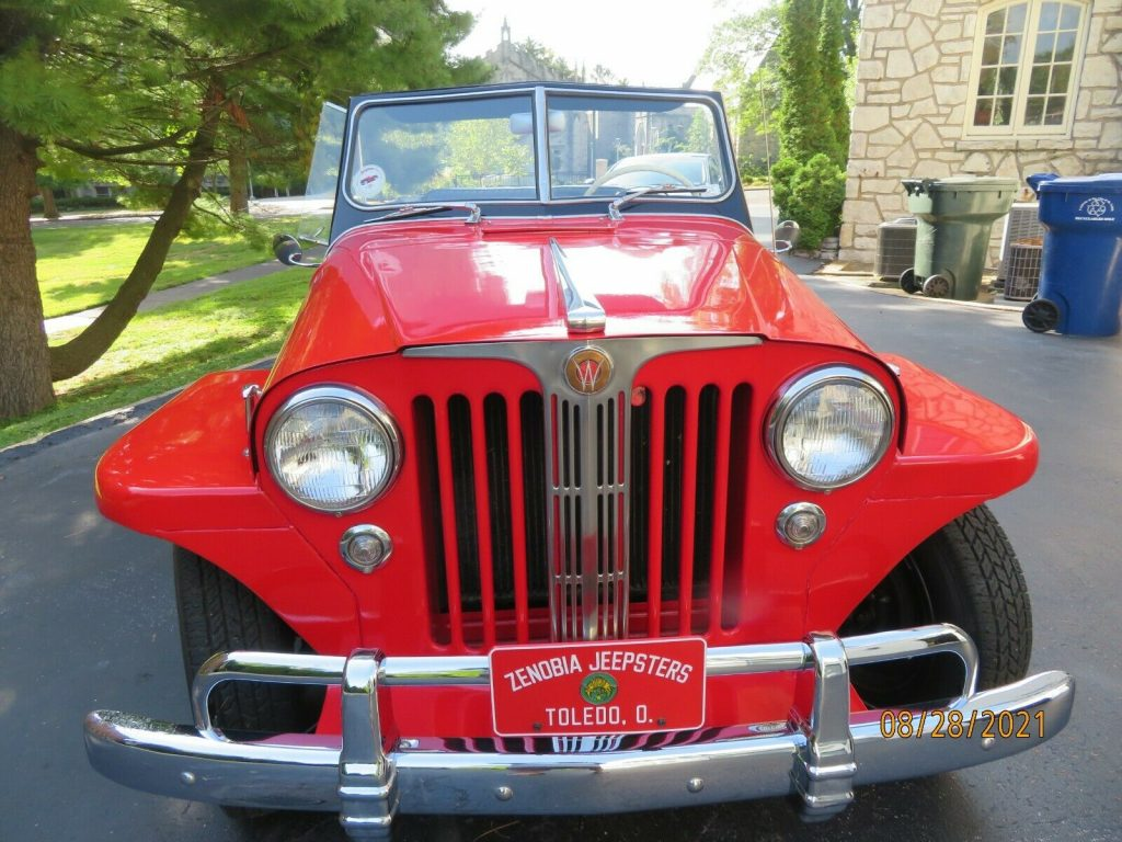 1948 Willys Jeepster Chrome