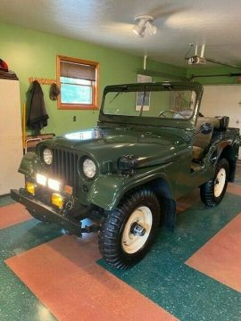 1953 Jeep Willys M38a1 Military for sale