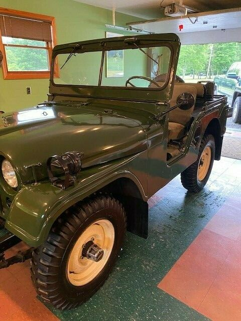 1953 Jeep Willys M38a1 Military