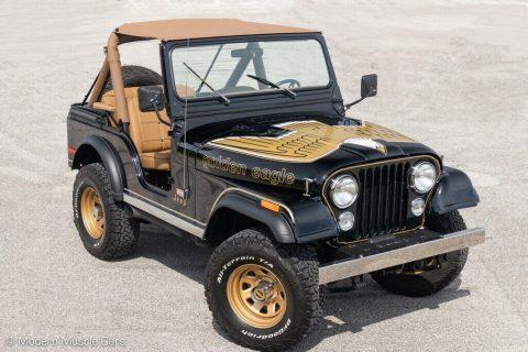1980 Jeep CJ 5   Golden Eagle Theme for sale
