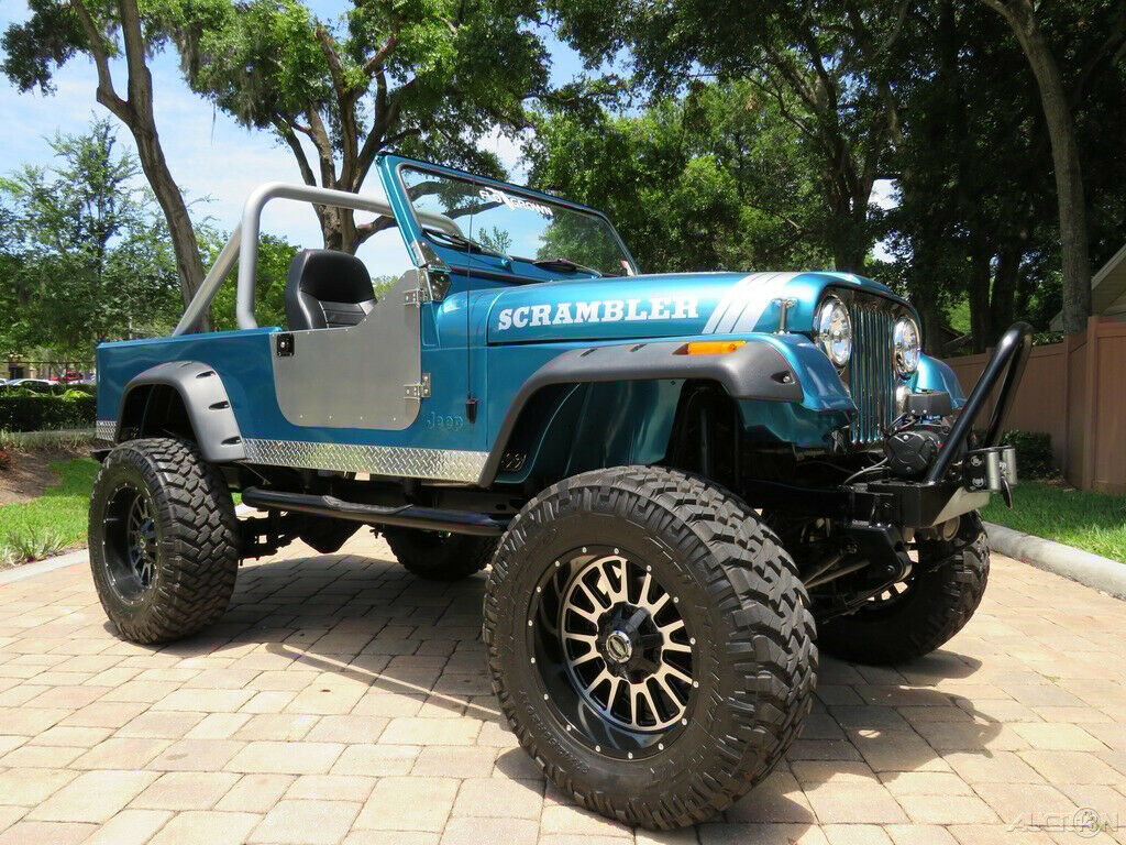 1981 Jeep Scrambler