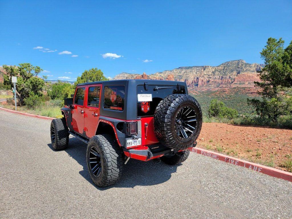 2018 Jeep Wrangler Pro Comp 4″ Lift