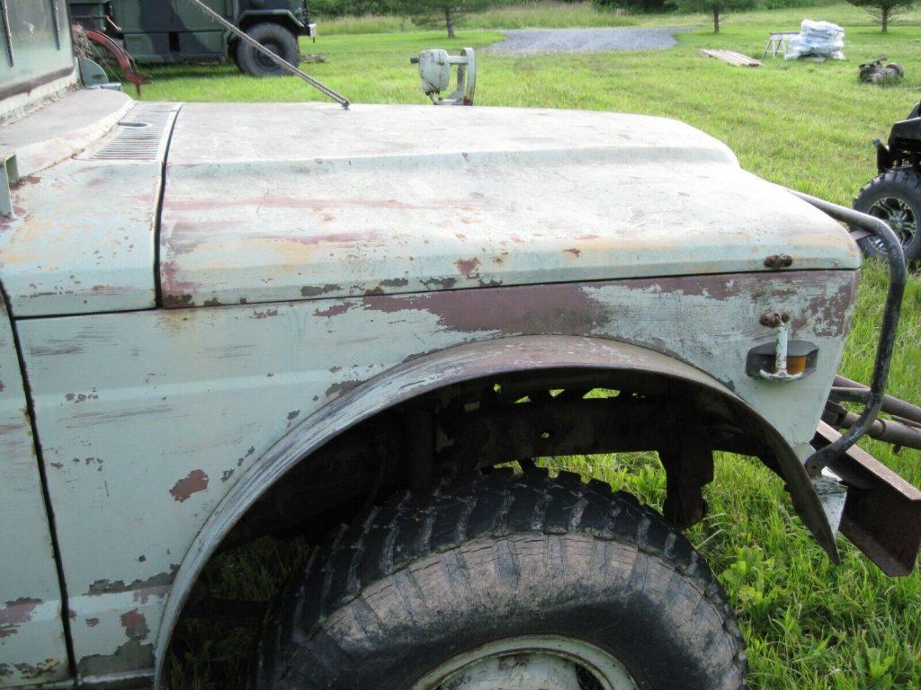 Jeep M715 military vehicles.