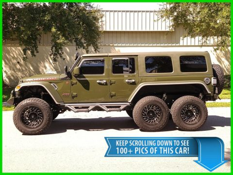 2021 Jeep Wrangler Unlimited Rubicon Diesel   6X6 Beast 3RD ROW SEAT for sale